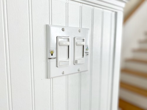 Dimmer switches make Alabama homes fun and romantic.