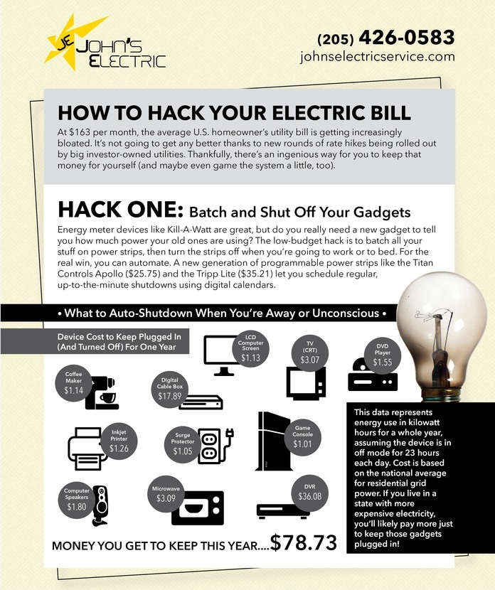 How to hack your electric bill, energy saving tips