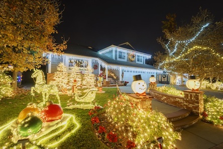 Can your electric panel handle all of your Christmas lights?