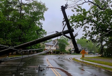 What to do near a downed power line.