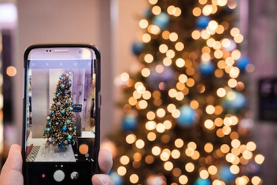 Smart Christmas lights