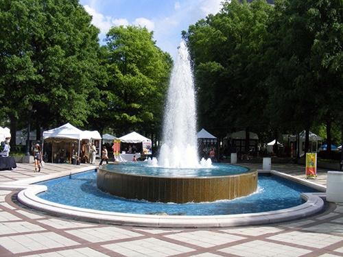 Linn Park Fountain, Birmingham, AL